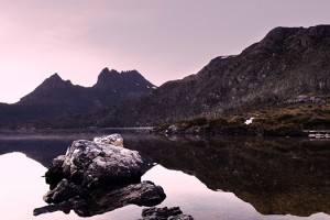 Dove Lake at Cradle Mountain