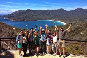 Wineglass Bay lookout
